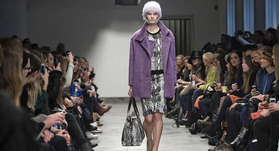 Baum und Pferdgartens show under Copenhagen Fashion Week. Den 30. januar 2014.