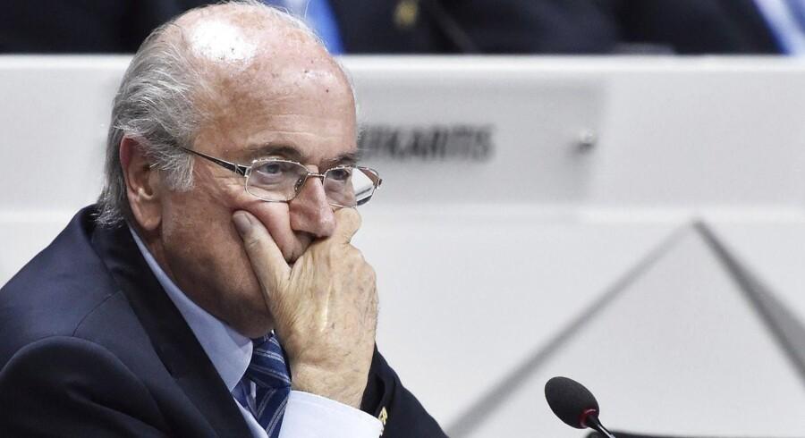 FIFA-præsident Sepp Blatter.