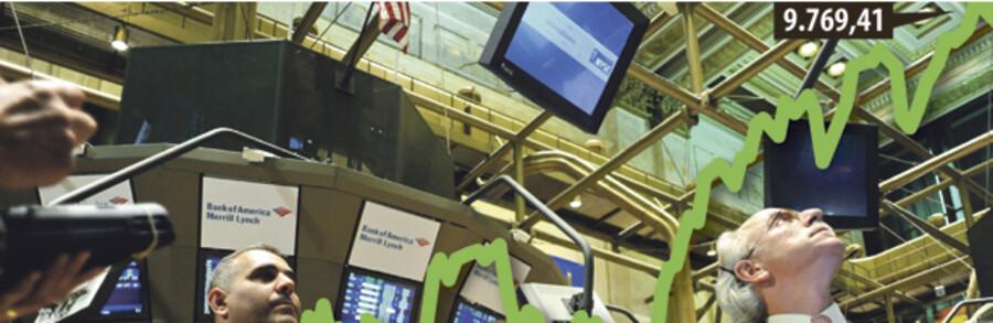 Dow Jones Industrials er steget over 30 ptc. det seneste halve år.