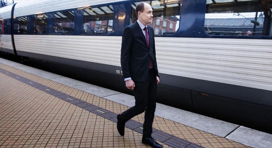 Transportminister Magnus Heunicke (S).