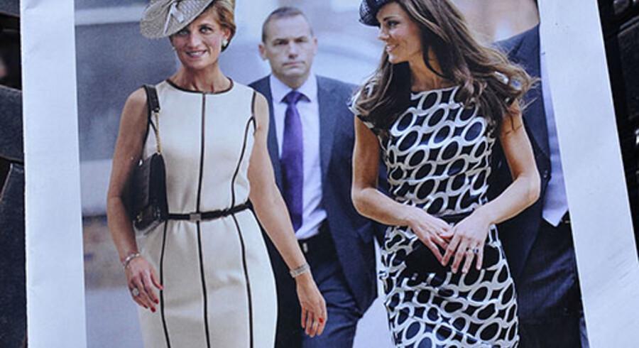 Denne forside af Newsweek, der udkommer på mandag, har et computergenereret foto af, hvordan prinsesse Diana ville have set ud på sin 50 års fødselsdag på fredag den 1. juli.