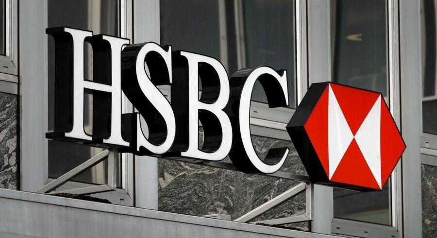 HSBC kom ud af første halvår med et resultat under det forventede.