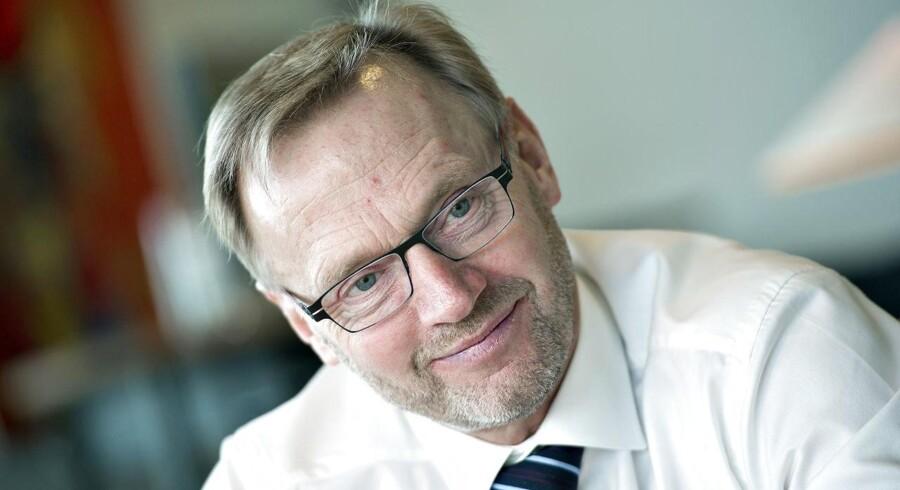 »Kan vi fastholde vores indtjeningsniveau, er Jyske Bank i en god gænge,« siger bankens topchef, Anders Dam.