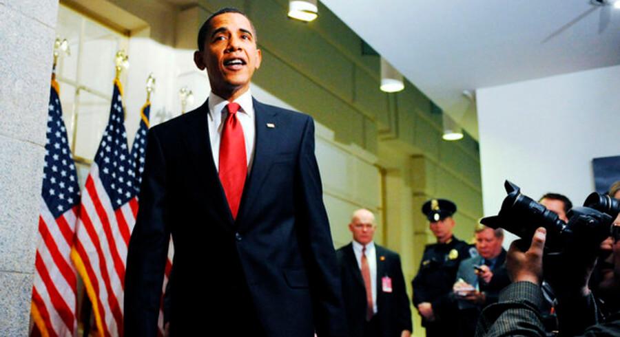 Under et besøg i Kongressen opfordrede præsident Barack Obama tirsdag skeptiske republikanere til at støtte hans økonomiske stimuli-pakke til 825 milliarder dollar (omkring 4668 milliarder kroner).