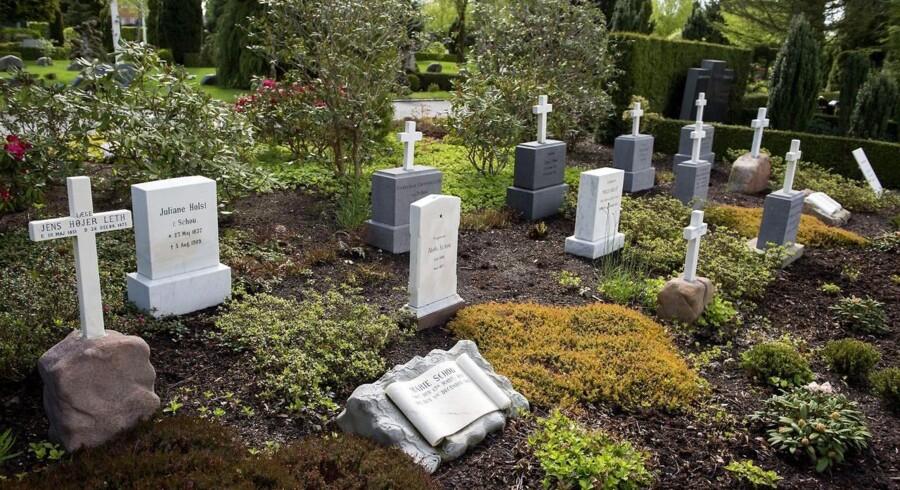 Billede af Nordre Kirkegård.