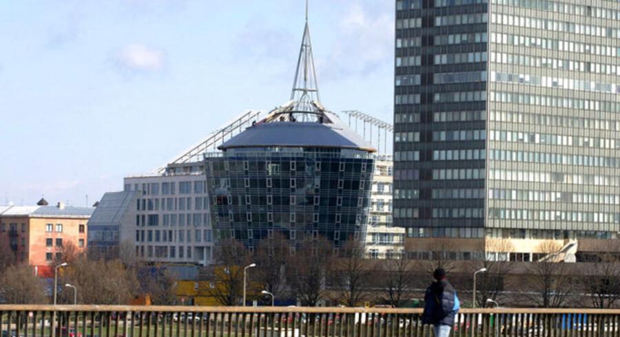 Også byggebranchen er hårdt ramt af recessionen i Letland.