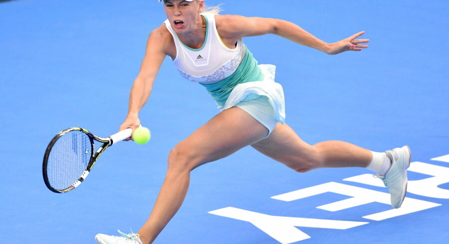 Caroline Wozniacki er ude af WTA-turneringen i Mexico