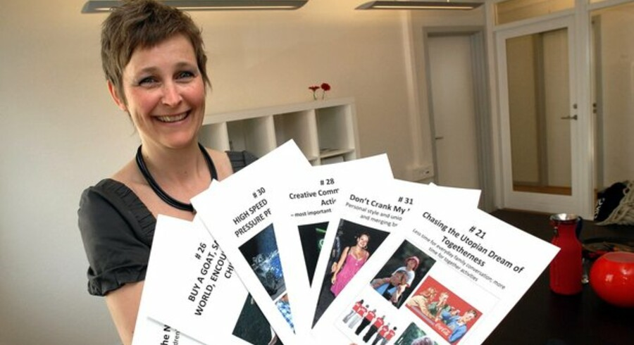 Anne Flemmert driver virksomheden Panopticon Research.Foto: Erik Smedegaard/Scanpix