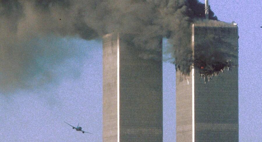 Flyene, der ramte World Trade Center 11. september 2001, kom fra United Airlines og American Airlines. Nu kræver ejendomsselskabet erstatning på grund af flyselskabernes svigtende sikkerhedsforanstaltninger.