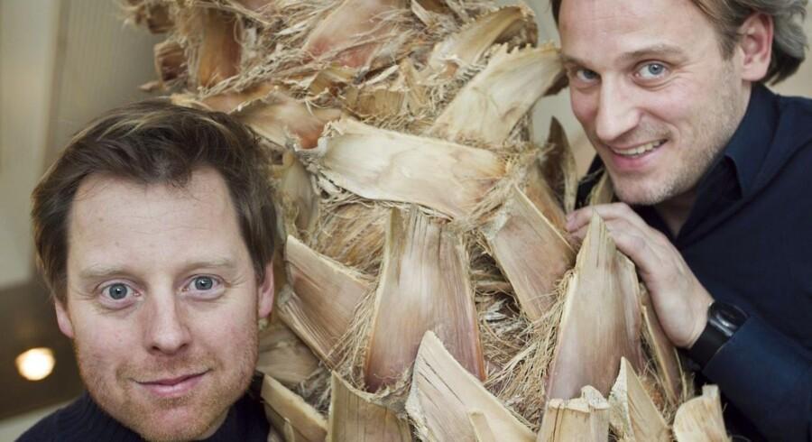 """Rasmus Botoft og Martin Buch fra Rytteriet har fornærmet Ulf Gregers Andersens med deres alternative version af """"Der er noget i luften""""."""