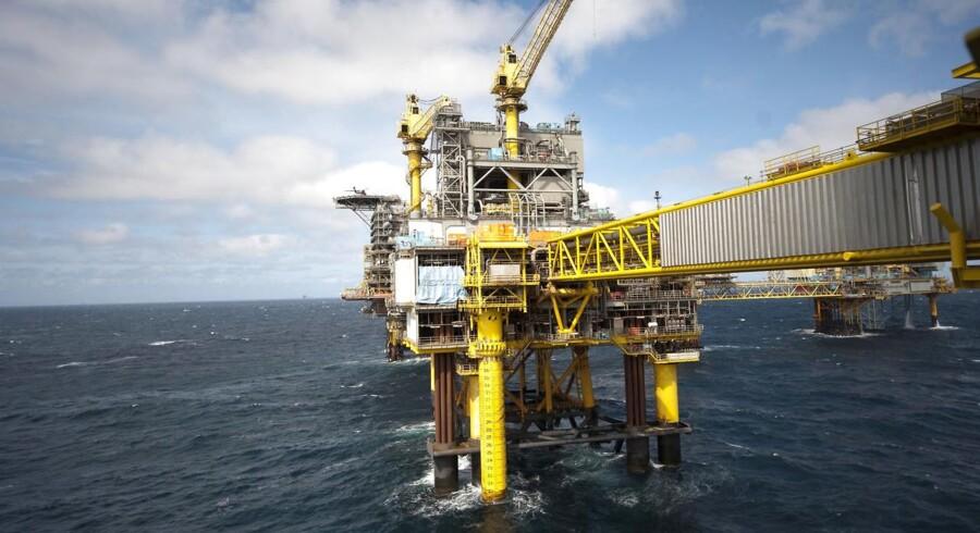 Mærsk Olie og Gas - Boreplatform Nordsøen Dan Feltet