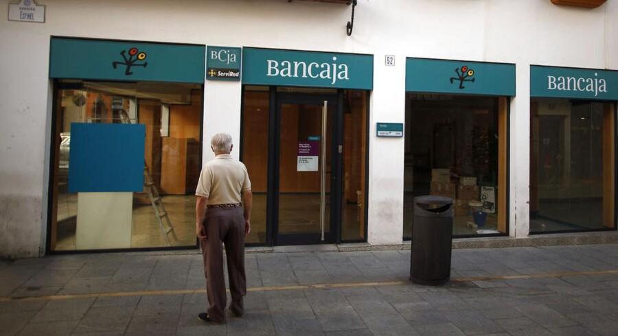 Bankia er en fusion af syv mindre pengeinstitutter, men har vist sig ikke at være tilnærmelsesvis så stærk, som forventet.