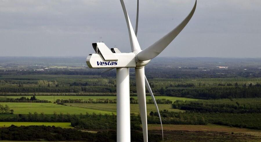 Vestas har fået flere vindmølleordrer end alle andre producenter i juni.
