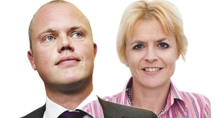 Peter Christensen, mf (V) og Lykke Friis, MF (V)