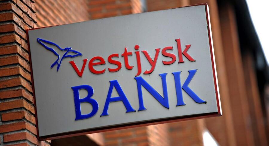 Vestjysk Bank tjener 15 mio. i kursgevinst.