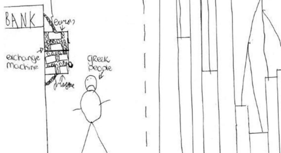 11-årige Jurre Hermans løsning på krisen i eurozonen.