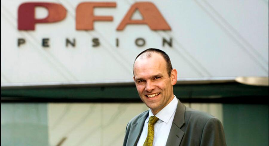 Den nu tidligere investeringsdirektør Henrik Franck arbejder ikke længere hos PFA.