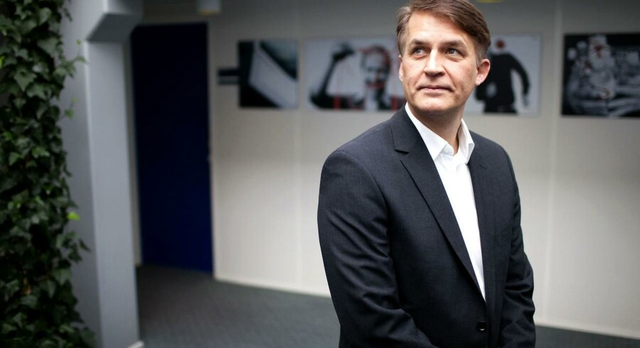 Lars Holmkvist er Dakos administrerende direktør.