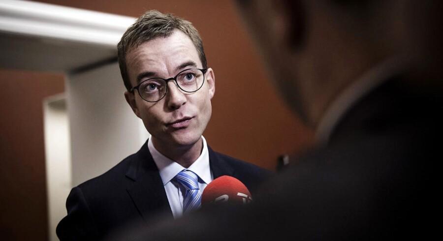 Esben Lunde Larsen stopper i dansk politik på grund af et nyt job i en tænketank i USA.