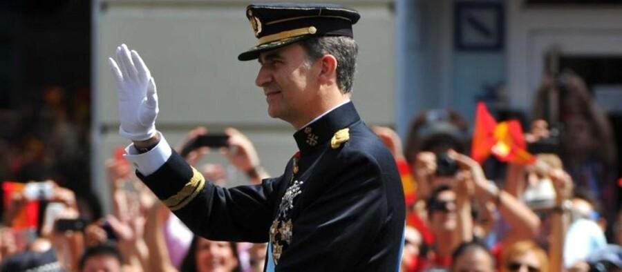 Den officielle ceremoni, hvor kronprins Felipe indtrådte som konge af den spanske trone, blev gennemført torsdag. Han hedder nu officielt Felipe VI.