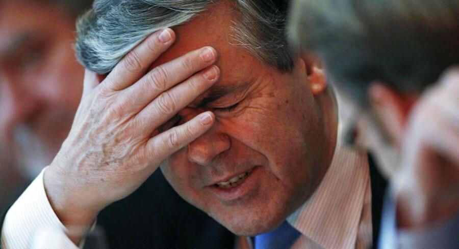 Josef Ackermann, tidligere adm. direktør i Deutsche Bank og nu også tidligere bestyelsesformand i Zurich Insurance Group.
