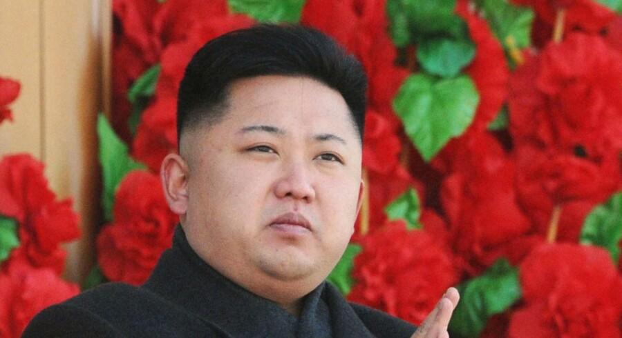 Den nordkoreanske leder, Kim Jong-un, overtog posten efter sin fars død d. 17. december 2012.