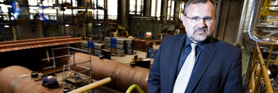 Administrerende direktør Jan Vestergaard Olsens industri-forretning.