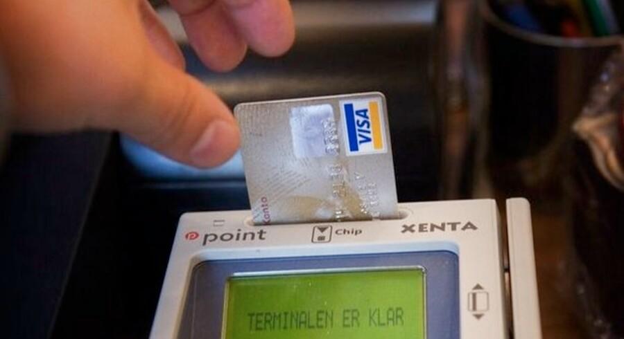 Andelen af internationale kredit - og betalingskort bliver stadig i større.