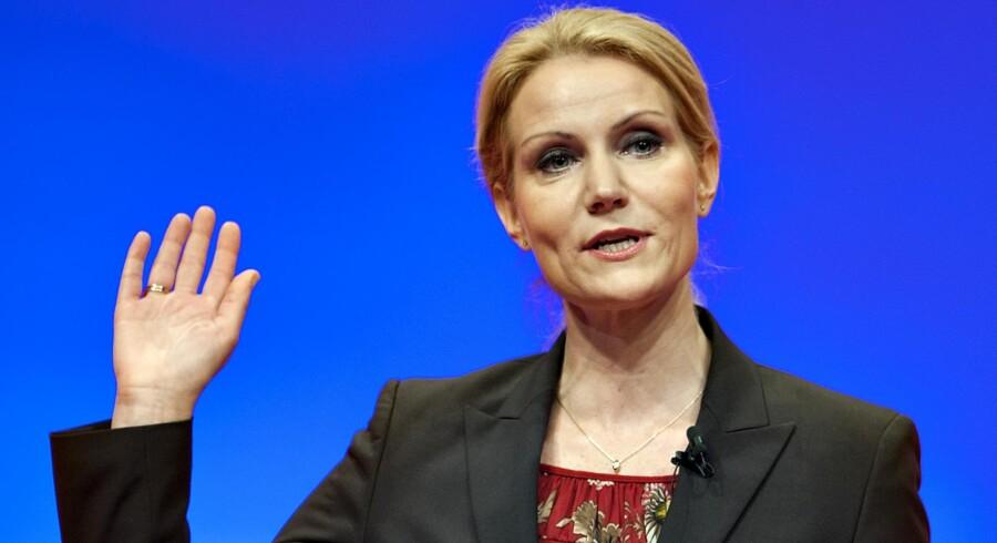 Socialdemokraternes formand Helle Thorning-Schmidt.