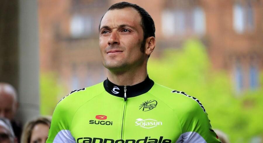 Ivan Basso har overraskende fået konstateret testikelkræft efter et styrt.