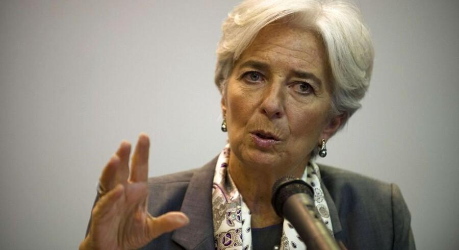 Den Internationale Valuta Fonds direktør Christine Lagarde advarer om, at hvis EUs og USAs problemer forblive uløste, vil det berøre hele verden.