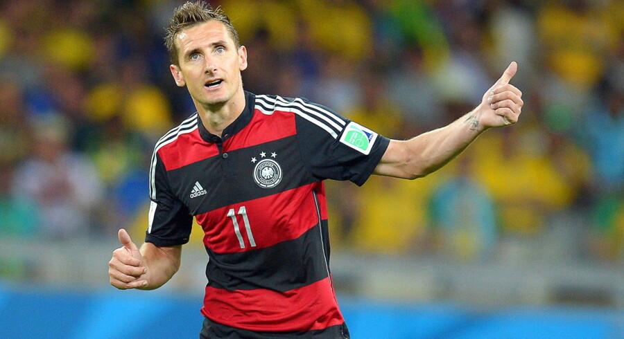 Klose er VM-historiens mest scorende spiller