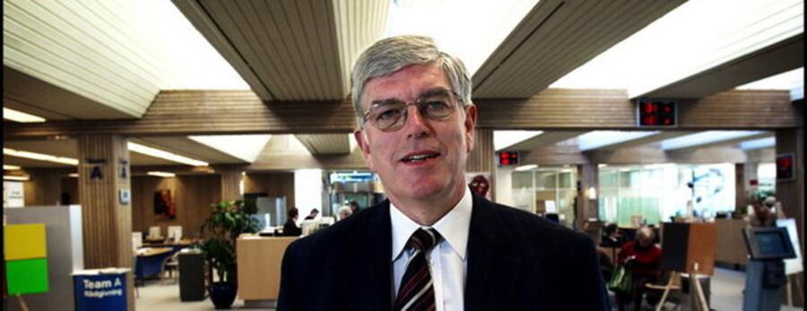 Roskilde Banks tidligere direktør, Niels Valentin Hansen