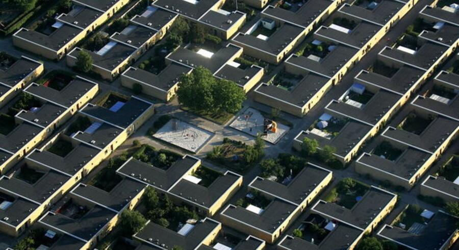 Flere boliger ender hos realkreditselskaberne, når ejerne ikke kan  betale ydelserne.