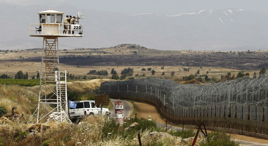 Siden 1974 har en fredsbevarende FN-styrke overvåget en smal stribe land i Golan-højderne mellem Israel og Syrien. Men nu trækker Østrig sine soldater ud, og FN har derfor bedt de nordiske lande om et bidrag til missionen.