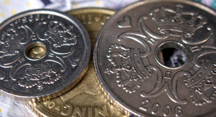 Den danske rente er nu kun 1,25 procentpoint højere end renten i Europa.