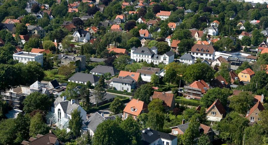 ARKIVFOTO 2007 af kvarter i Aalborg.