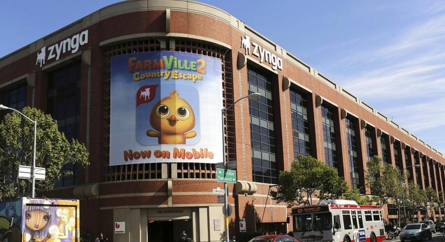 Netspilkoncernen Zynga, der blandt andet står bag gratis netspil som FarmVille og Zynga Poker, har hovedkvarter i San Francisco i Californien.
