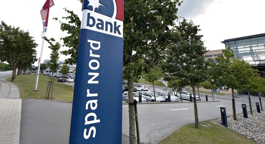 Stigende rentemarginal har været med til at sikre Spar Nord et flot regnskab inden fusionen med Sparbank.
