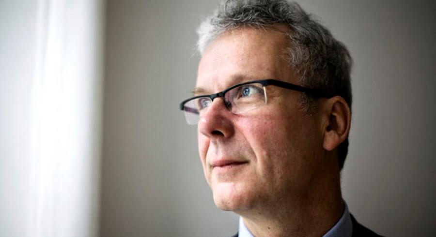 Direktøren for den første bankpakkes afviklingsselskab, Henrik Bjerre-Nielsen, forventer at se flere banker. Foto: Niels Ahlmann-Olsen, Scanpix