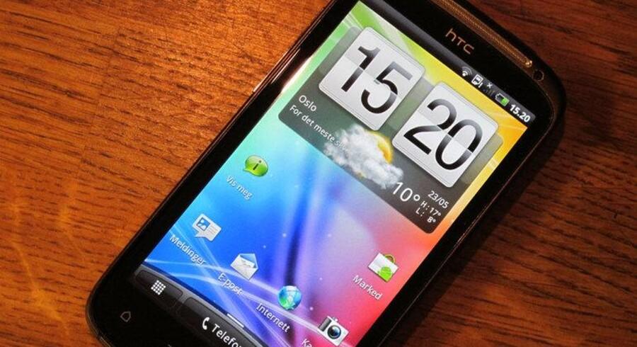 HTC overvejer, hvilket operativsystem de skal kaste sig over. HPs webOS er på tale.