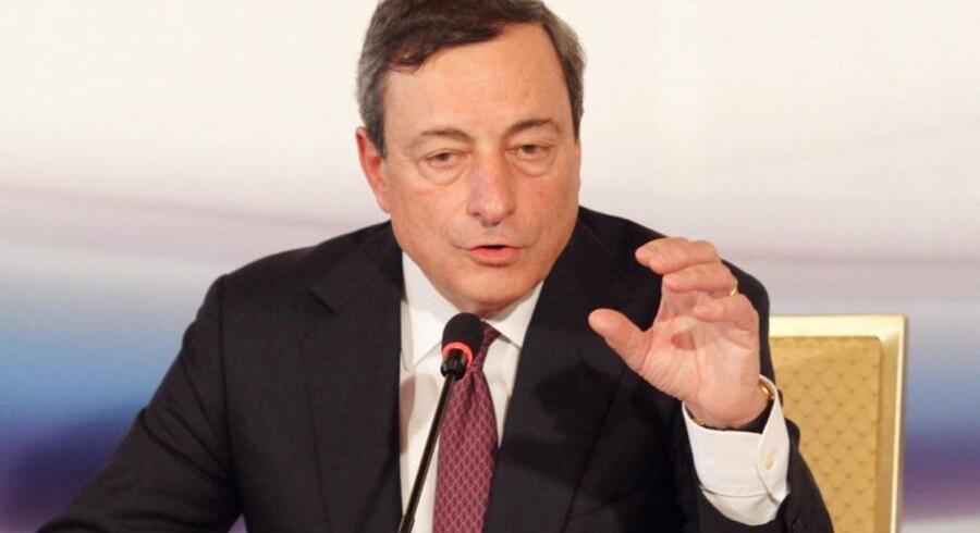 ECB-chefen Mario Draghi