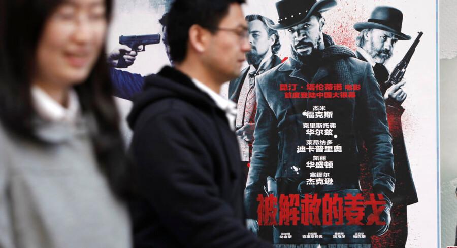 """De kinesiske censurmyndigheder så sig sure på """"Django Unchained""""."""