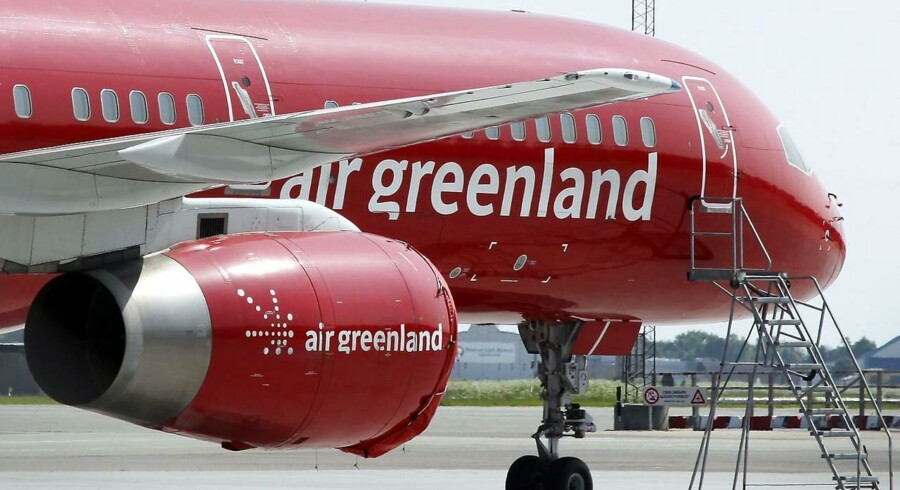Air Greenland fly i Københavns Lufthavn.