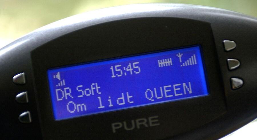 DAB-radio.