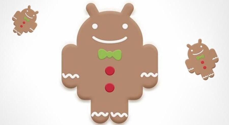 Android er nu klar med sidste nye version af deres operativsystem, Gingerbread.