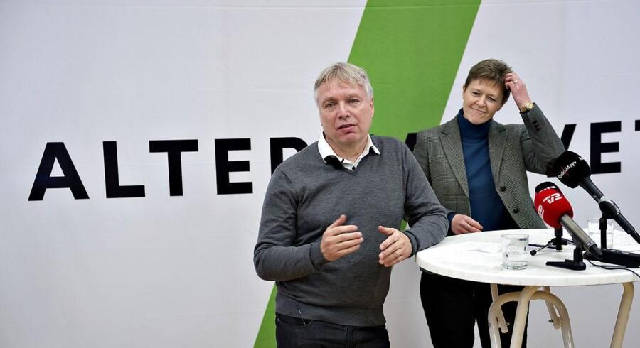 Arkivbillede. Uffe Elbæk startede sidste år det nye parti Alternativet, og mandag fremlægger han partiprogrammet. (Foto: Keld Navntoft/Scanpix 2013)