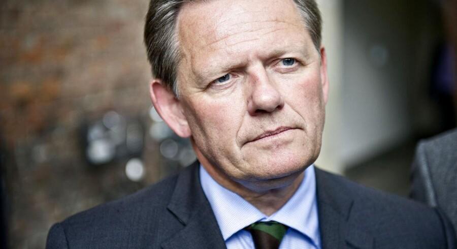 ARKIVFOTO. En lang række af de Konservatives byrådsmedlemmer og lokale vælgerforeningsformænd mener ikke længere, at Lars Barfoed (K) er den rette formand for partiet.