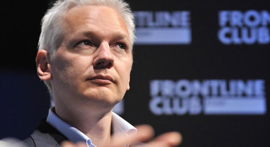 Wikileaks stifteren Julian Assange