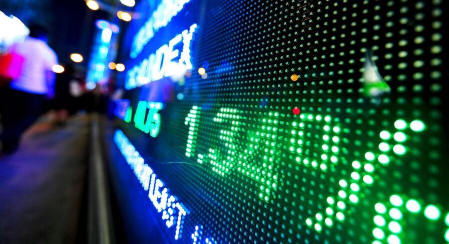 De amerikanske aktier lukkede tirsdag med rekorder i alle de ledende indeks efter stigninger i især banksektoren.